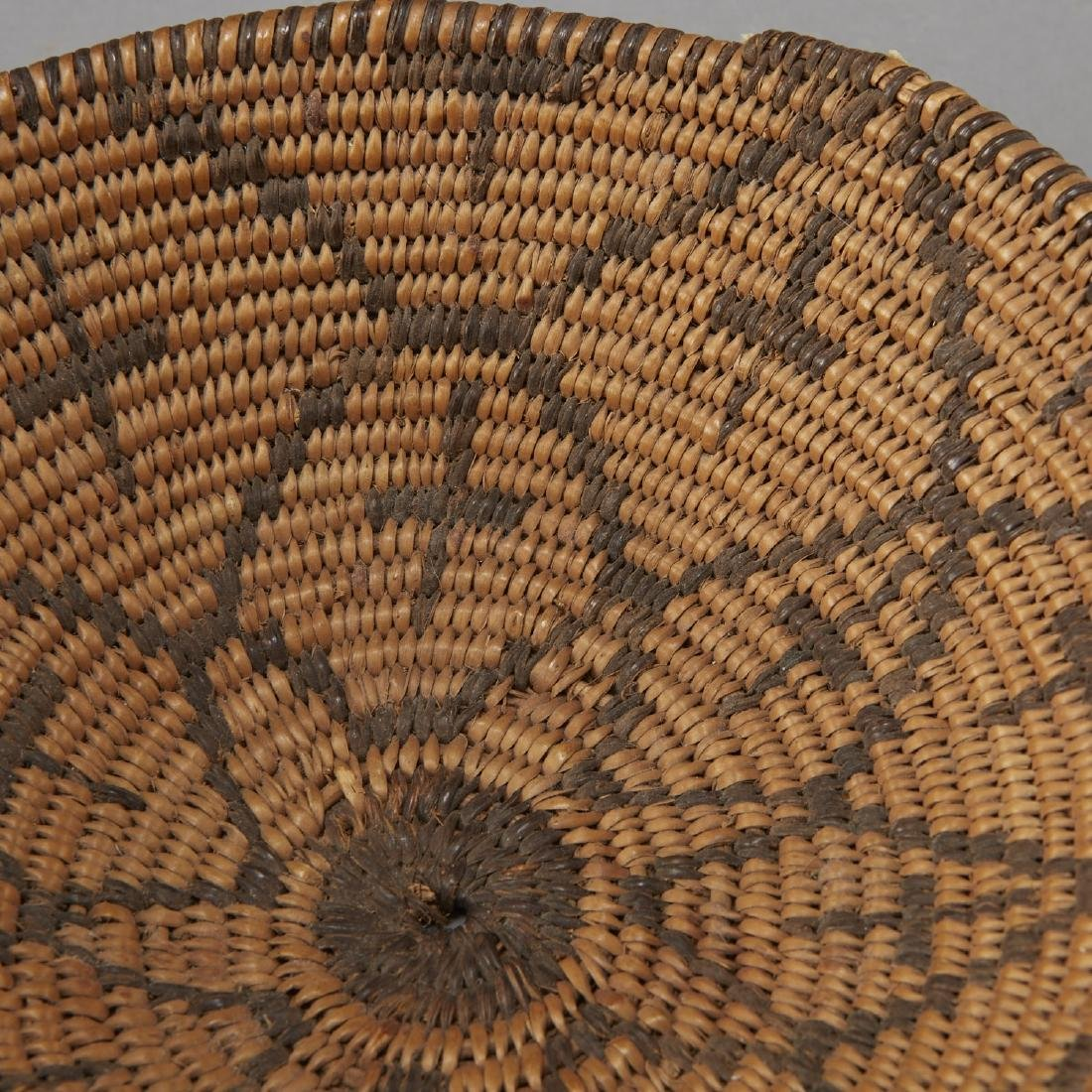Group of 5 Pima Woven Baskets and Trays - 4