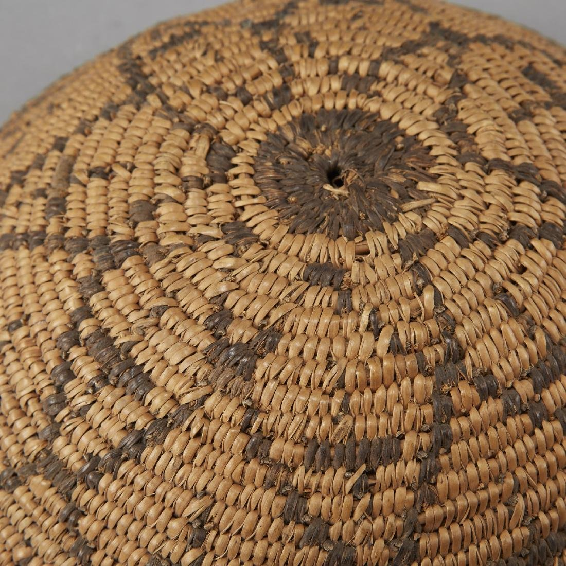 Group of 5 Pima Woven Baskets and Trays - 6