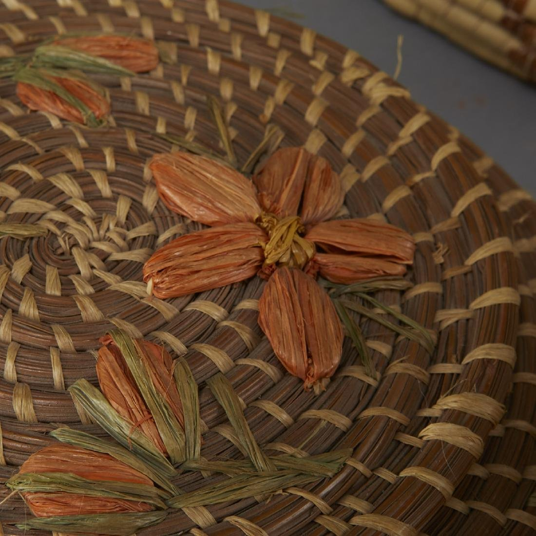 Group of 11 Native American Woven Objects - 4