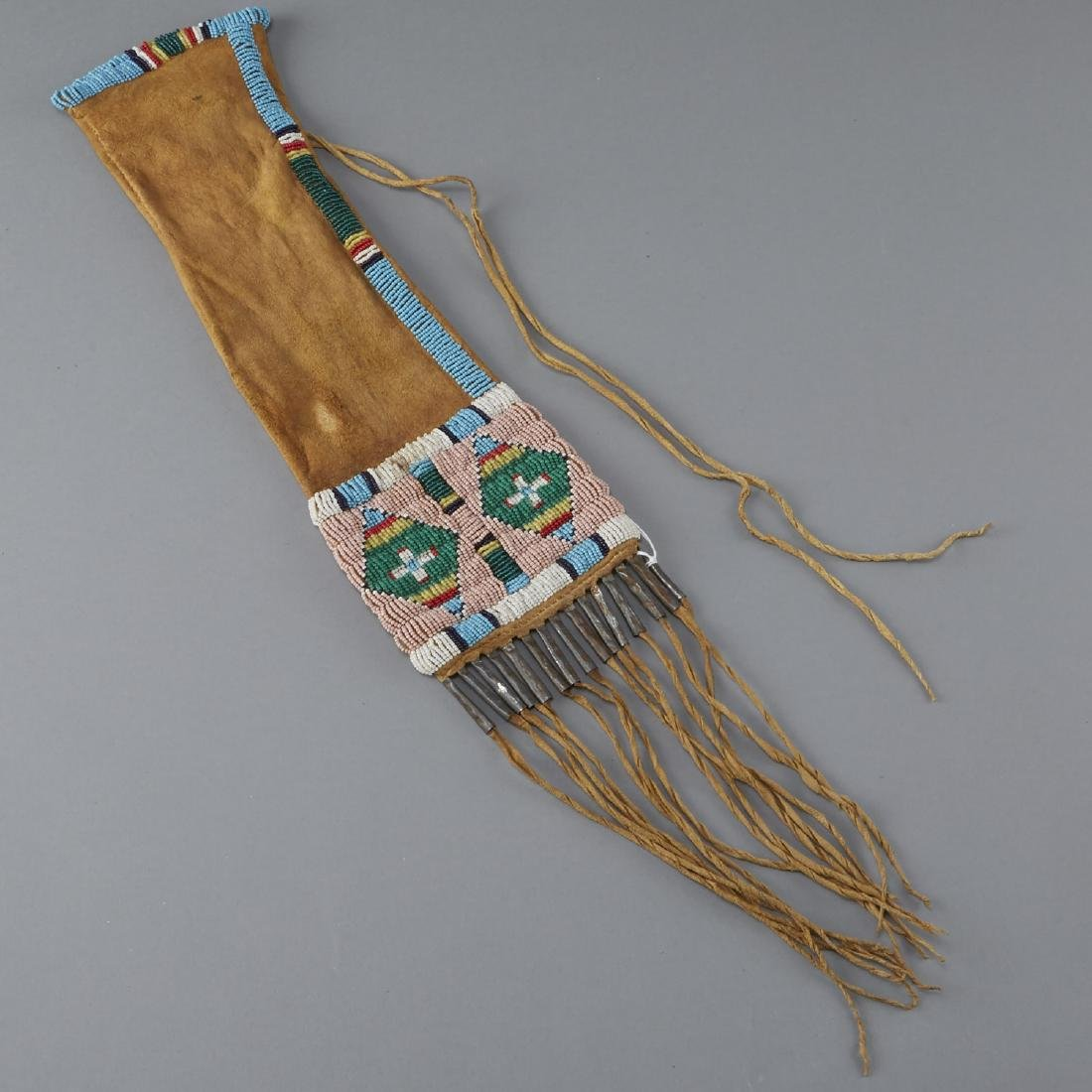 Sioux Beaded Pipe Bag