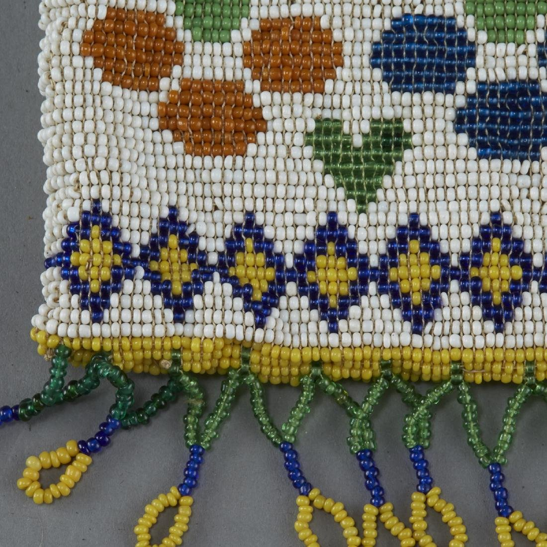 Group of 3 Native American Beaded Objects - 2