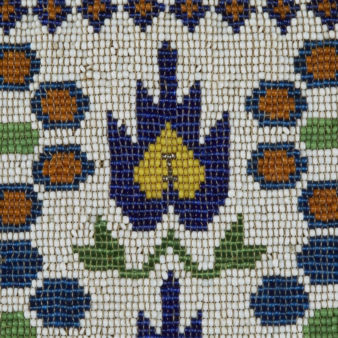 Group of 3 Native American Beaded Objects - 3