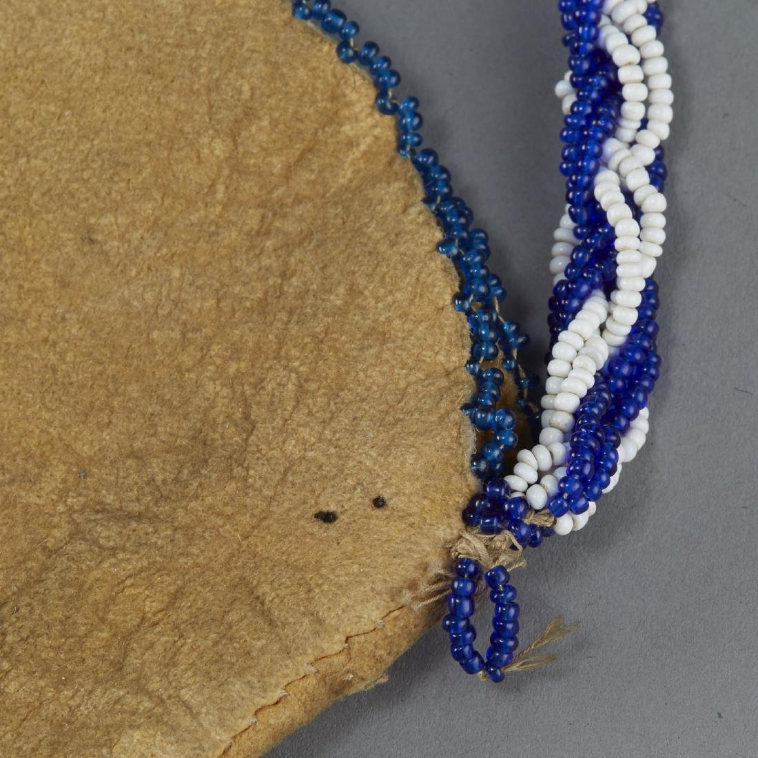 Group of 3 Native American Beaded Objects - 4