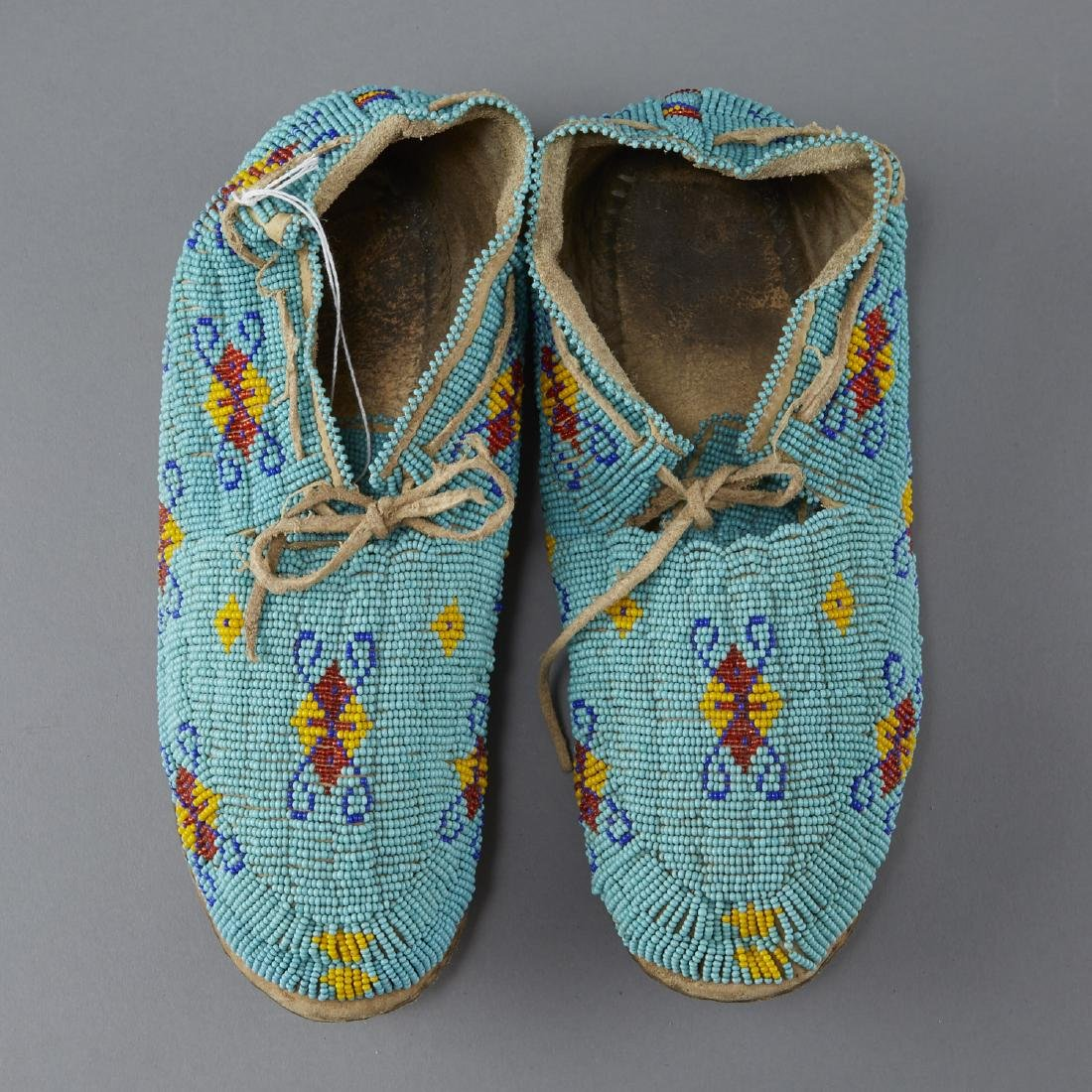7 Pairs Beaded Moccasins - 3