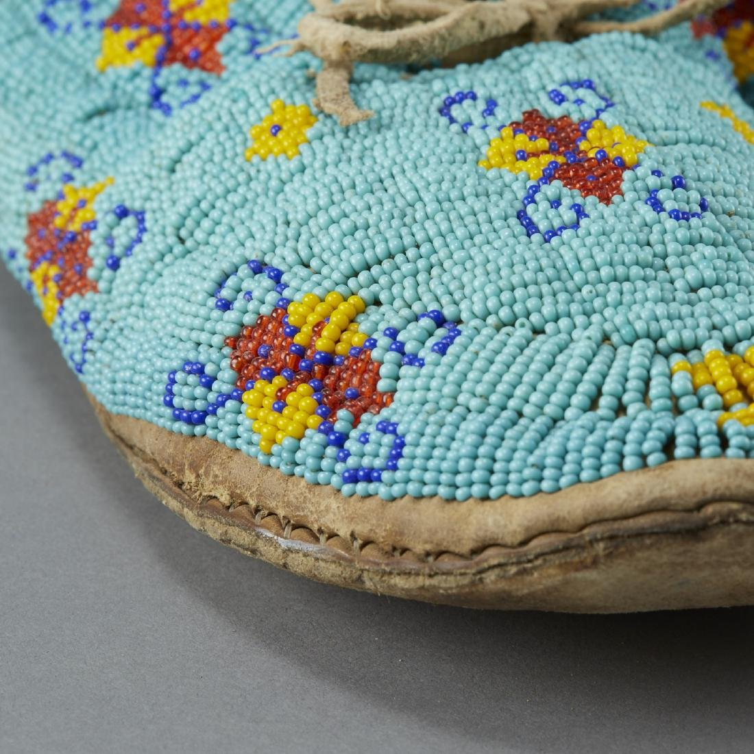 7 Pairs Beaded Moccasins - 6