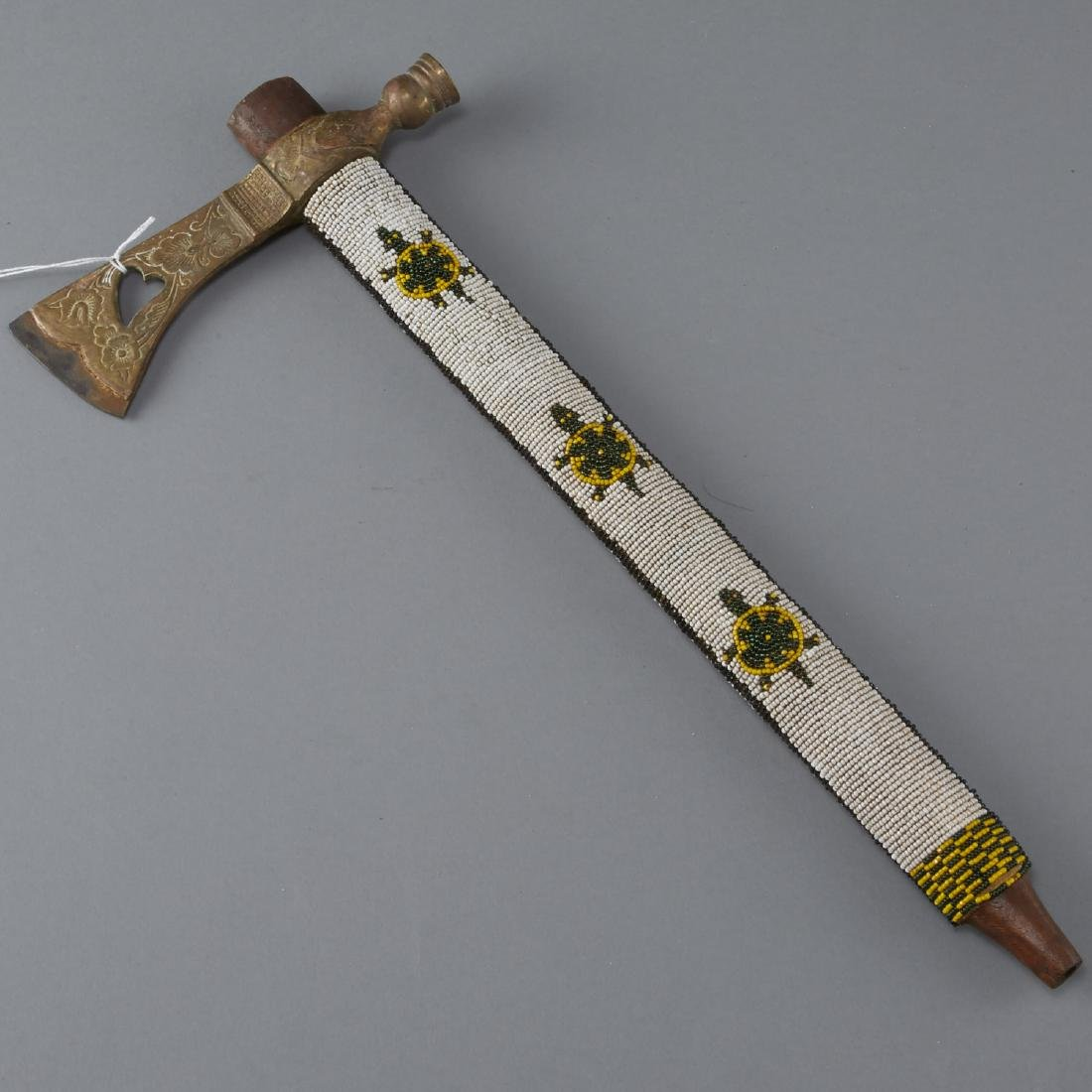 Beaded Pipe Axe