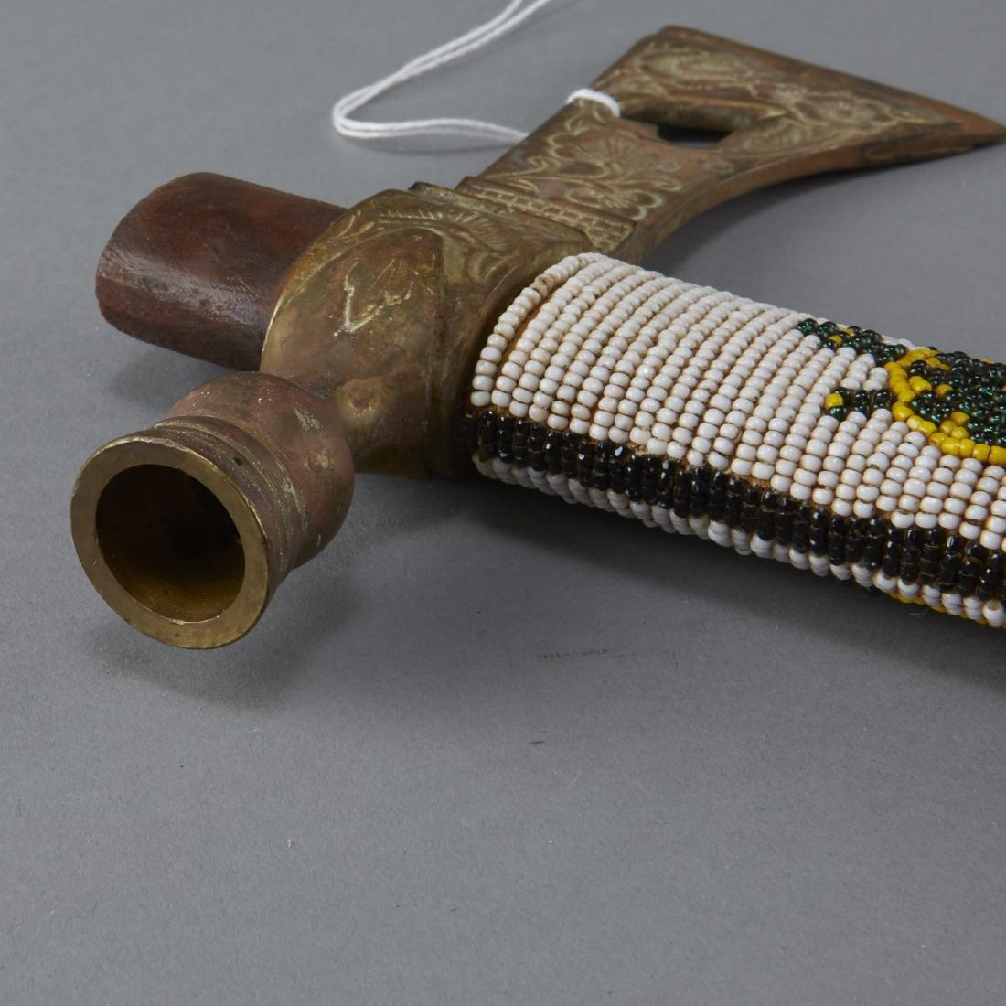 Beaded Pipe Axe - 4