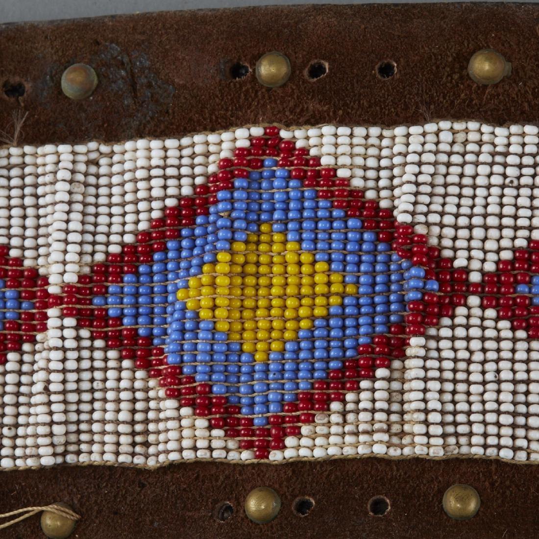 6 Native American Beaded Belts - 6