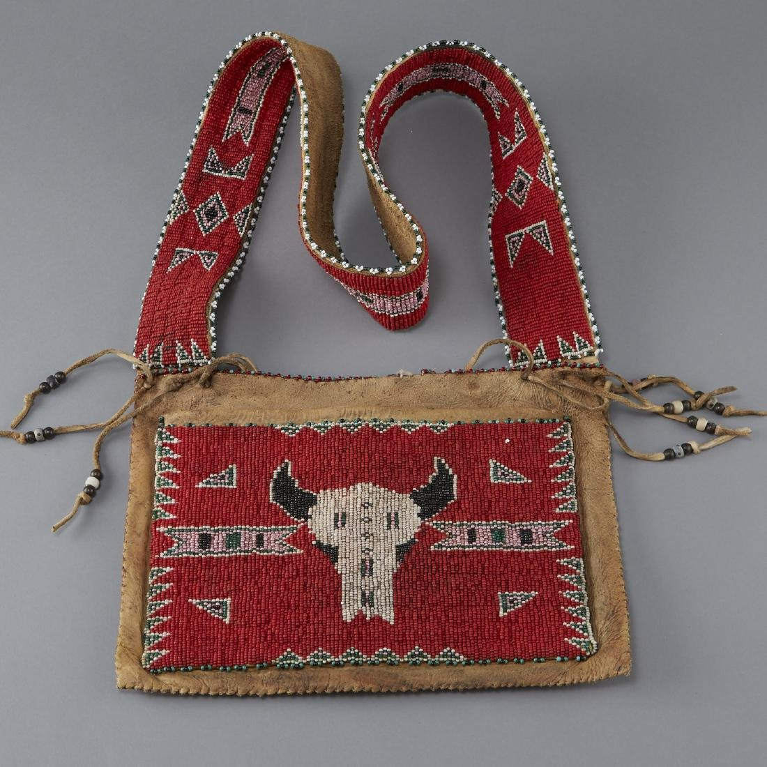 Sioux Leather Bandolier Bag