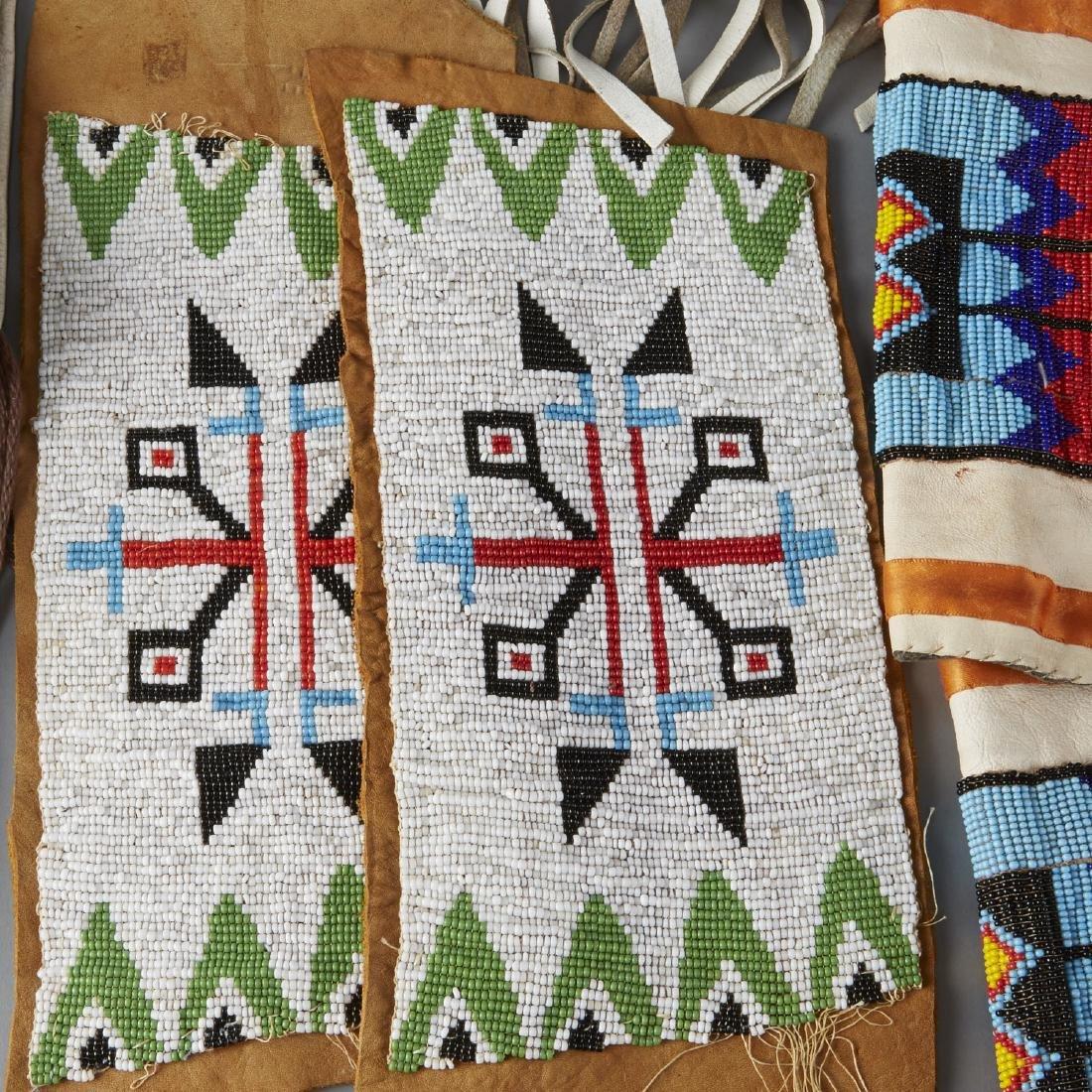 6 Native American Beaded Objects Cheyenne - 3
