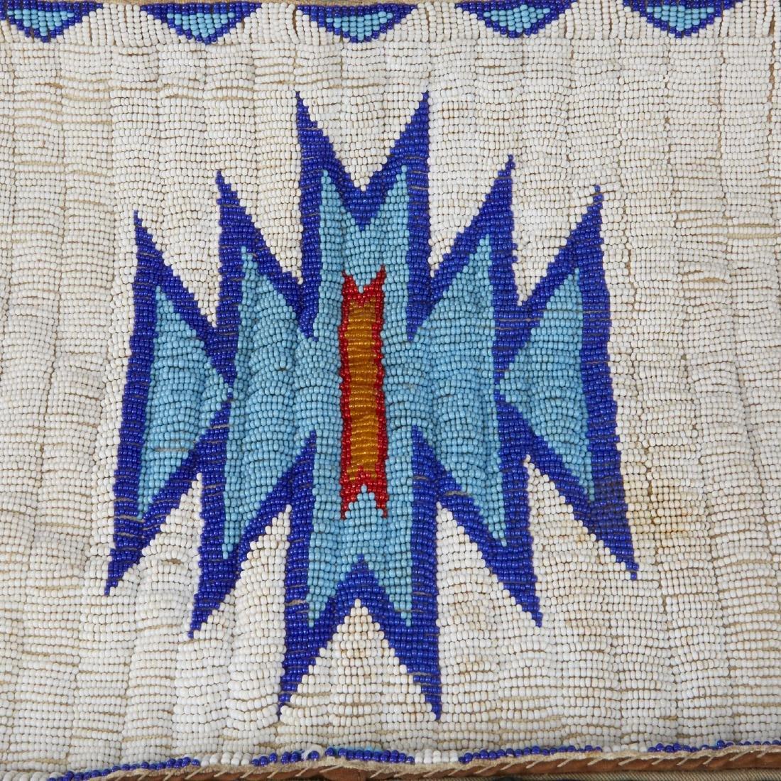 6 Native American Beaded Objects Cheyenne - 4