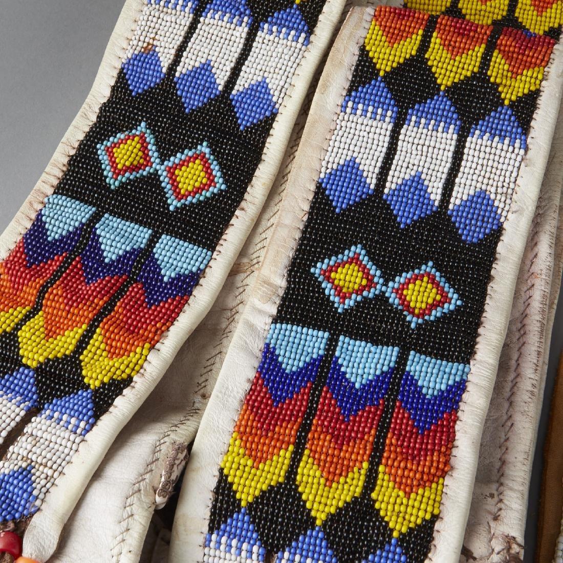 6 Native American Beaded Objects Cheyenne - 5