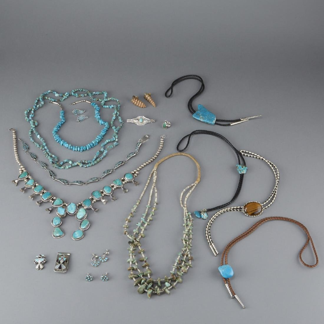 Southwestern Jewelry Silver, Turquoise, etc.
