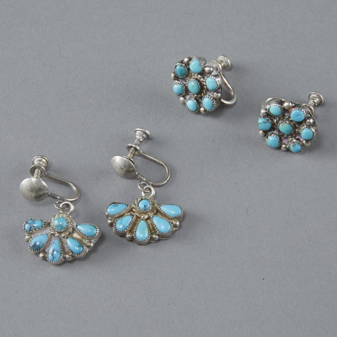Southwestern Jewelry Silver, Turquoise, etc. - 7