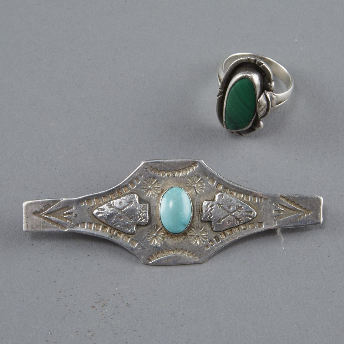 Southwestern Jewelry Silver, Turquoise, etc. - 9