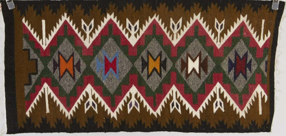 9 Navajo Rugs Tapestry dated 1950 and later - 2