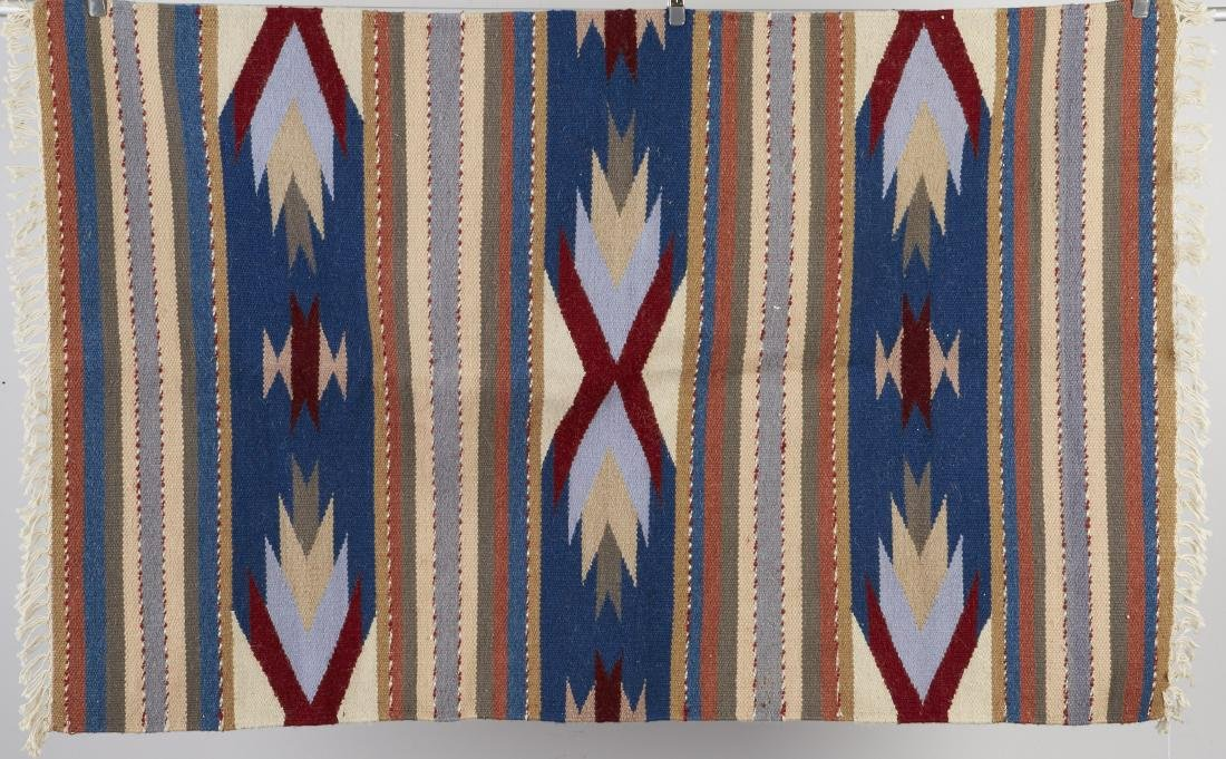 9 Navajo Rugs Tapestry dated 1950 and later - 8