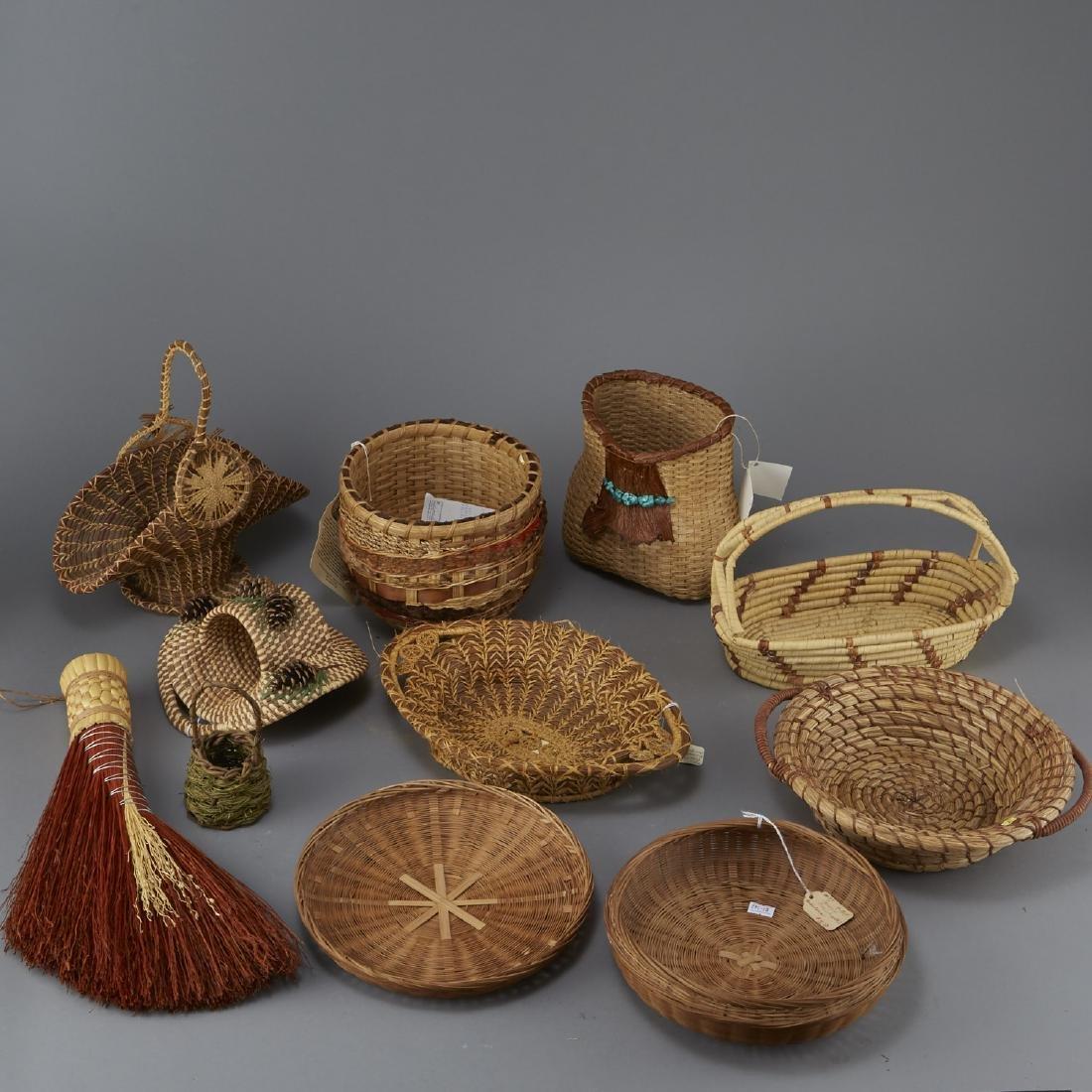 11 Woven Pieces of Native American Origin