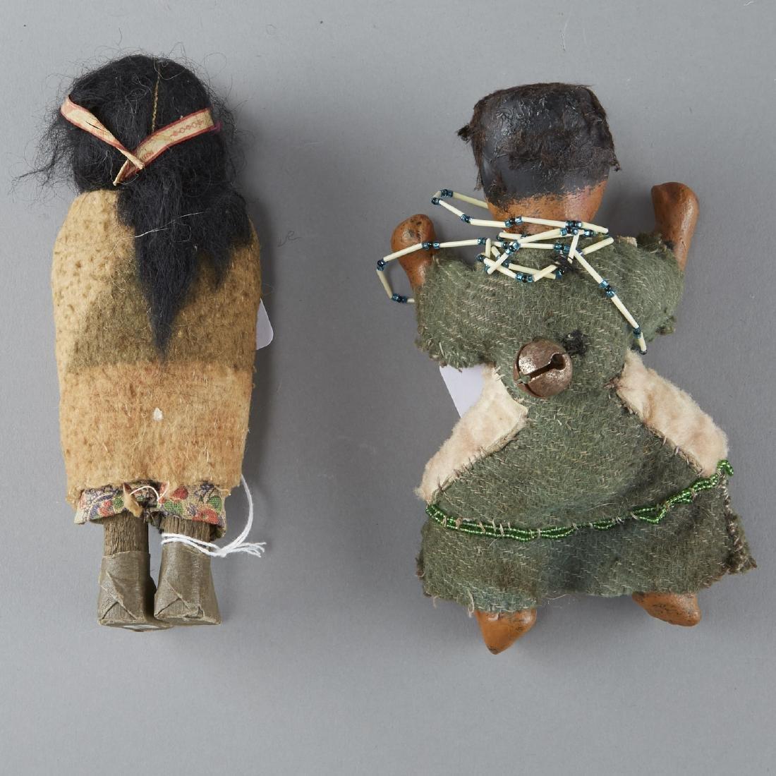 2 Native American Dolls, 1 Skookum - 2