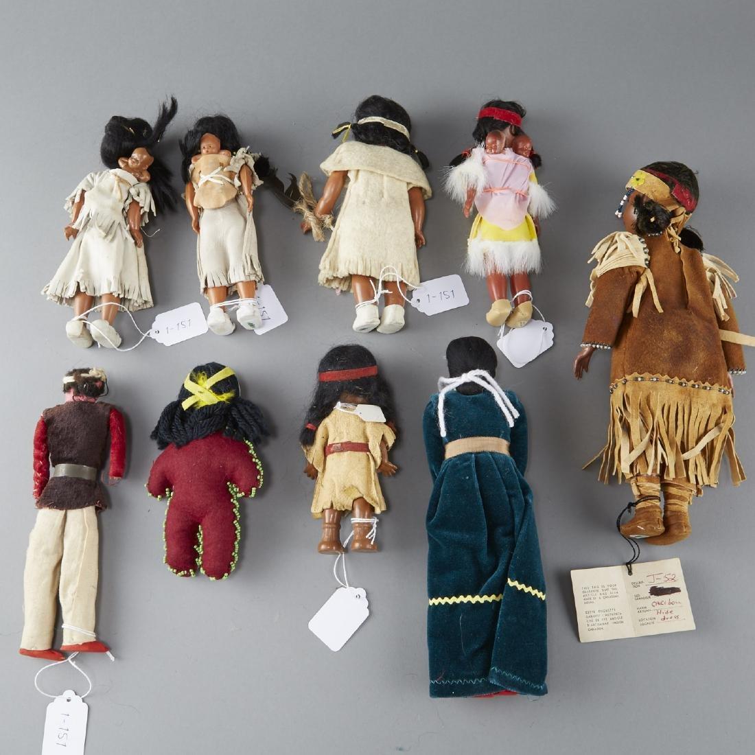 9 Native American Dolls - 2