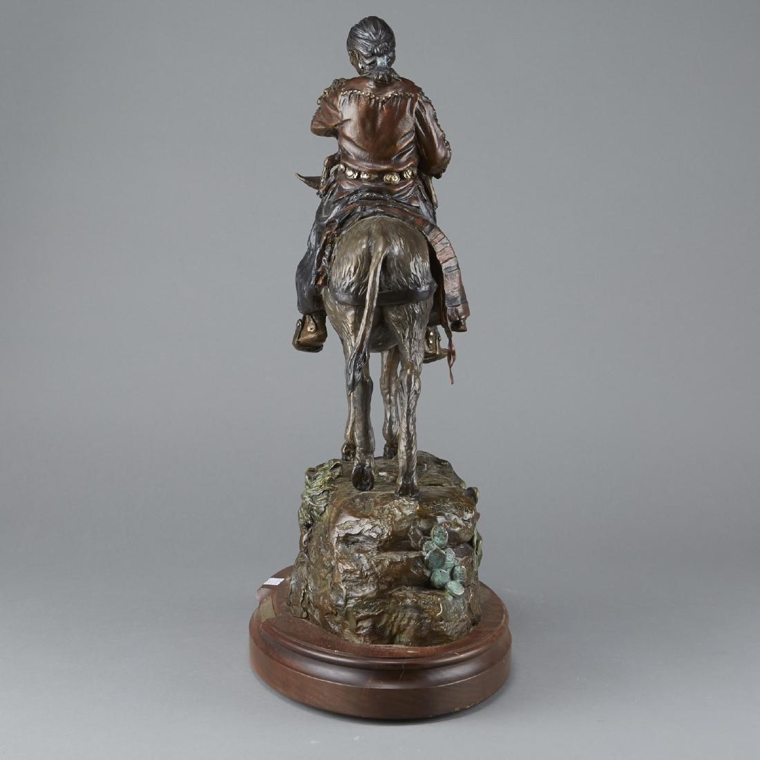 Susan Kliewer Bronze of Woman on Horseback - 2