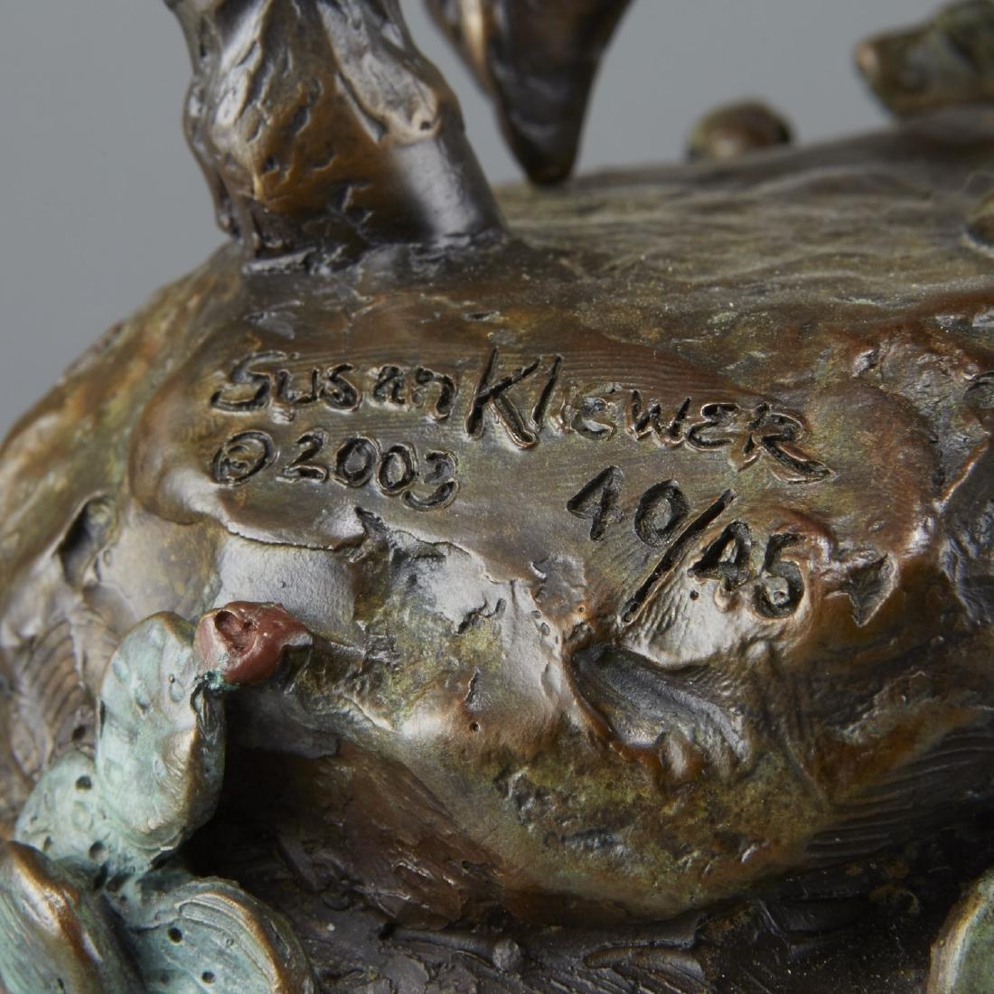 Susan Kliewer Bronze of Woman on Horseback - 4