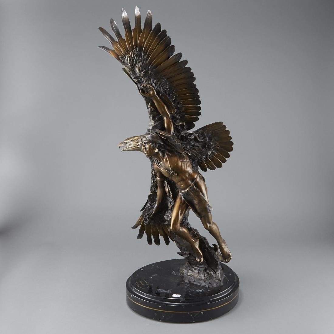 Susan Kliewer and Ken Rowe Bronze Sculpture