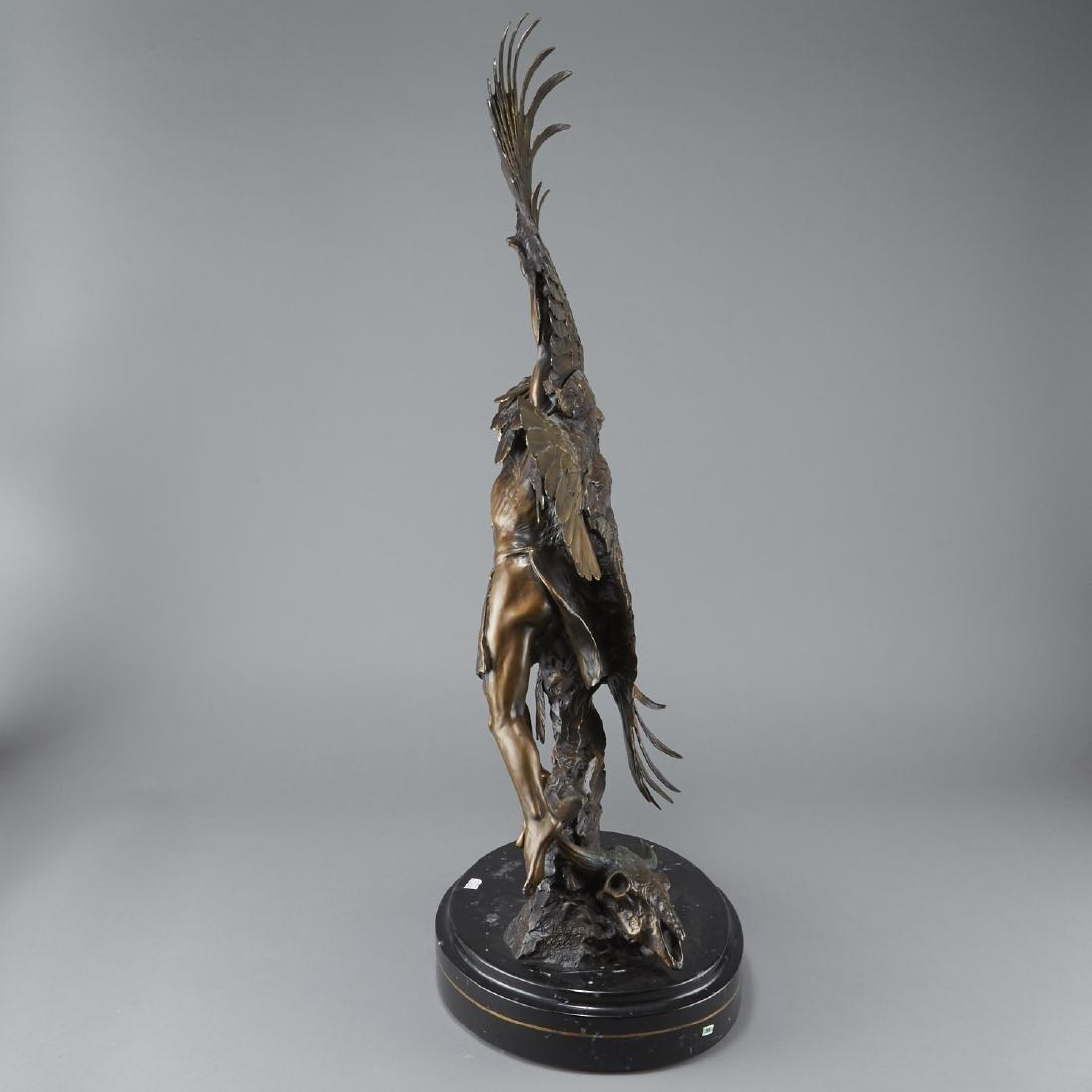 Susan Kliewer and Ken Rowe Bronze Sculpture - 2