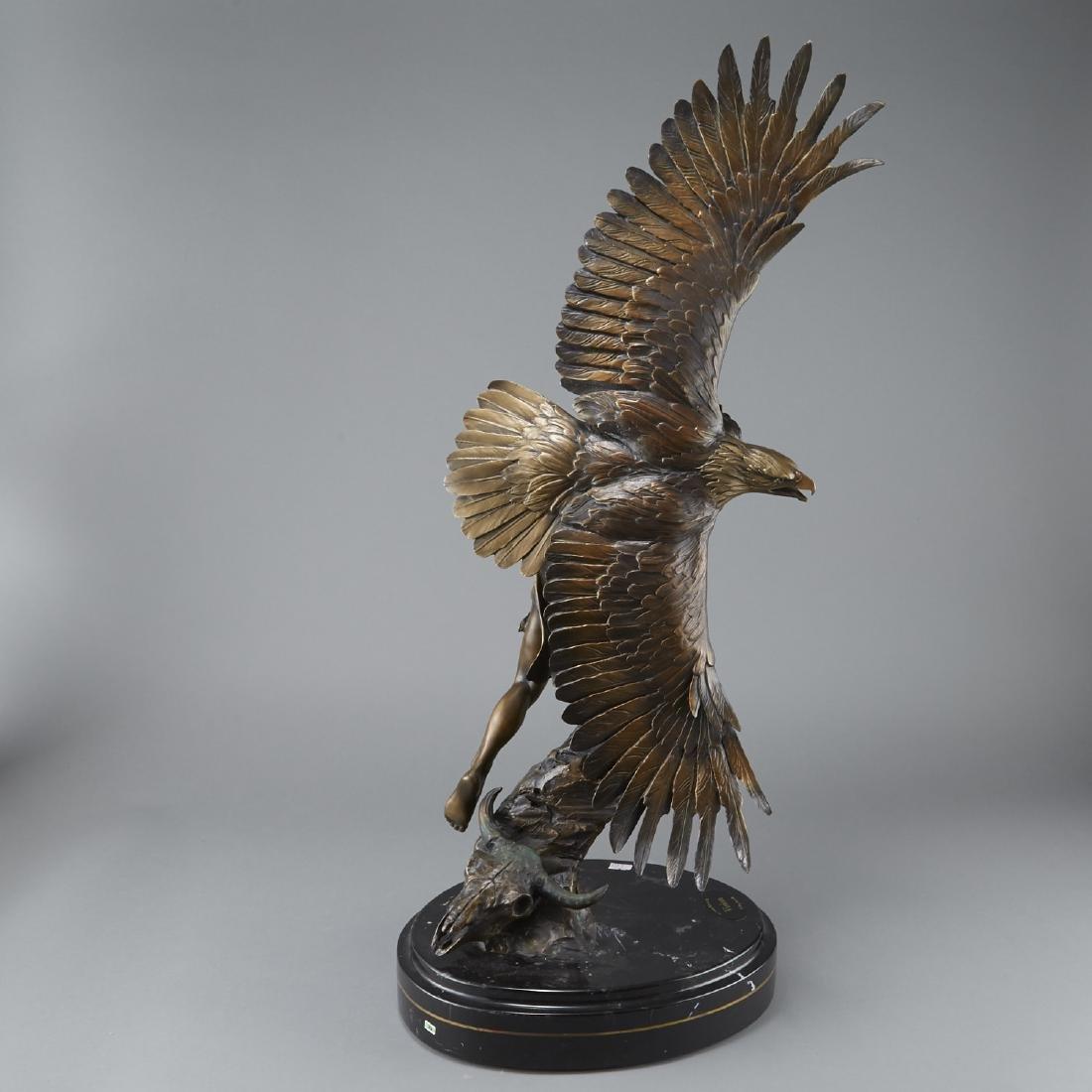 Susan Kliewer and Ken Rowe Bronze Sculpture - 3