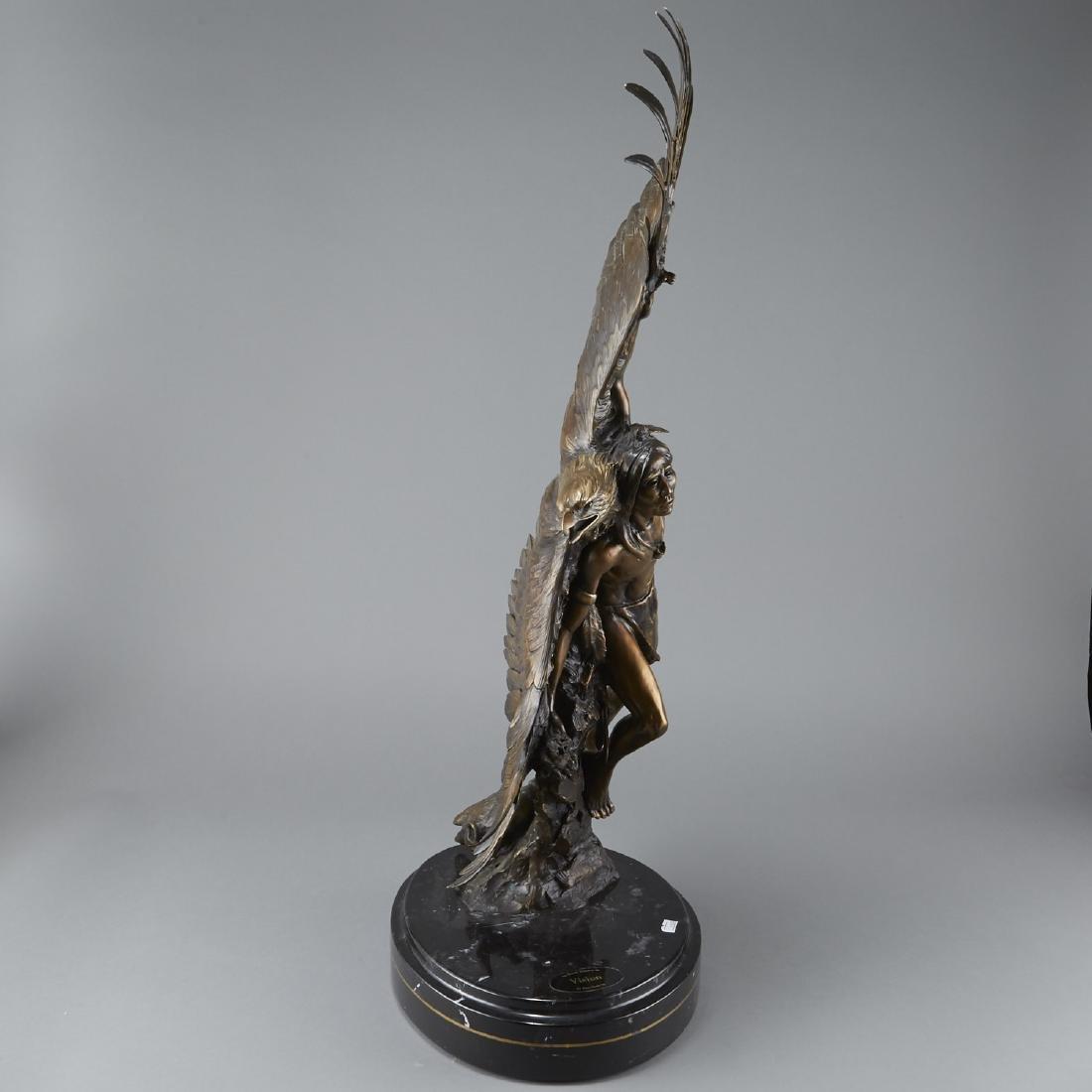 Susan Kliewer and Ken Rowe Bronze Sculpture - 4