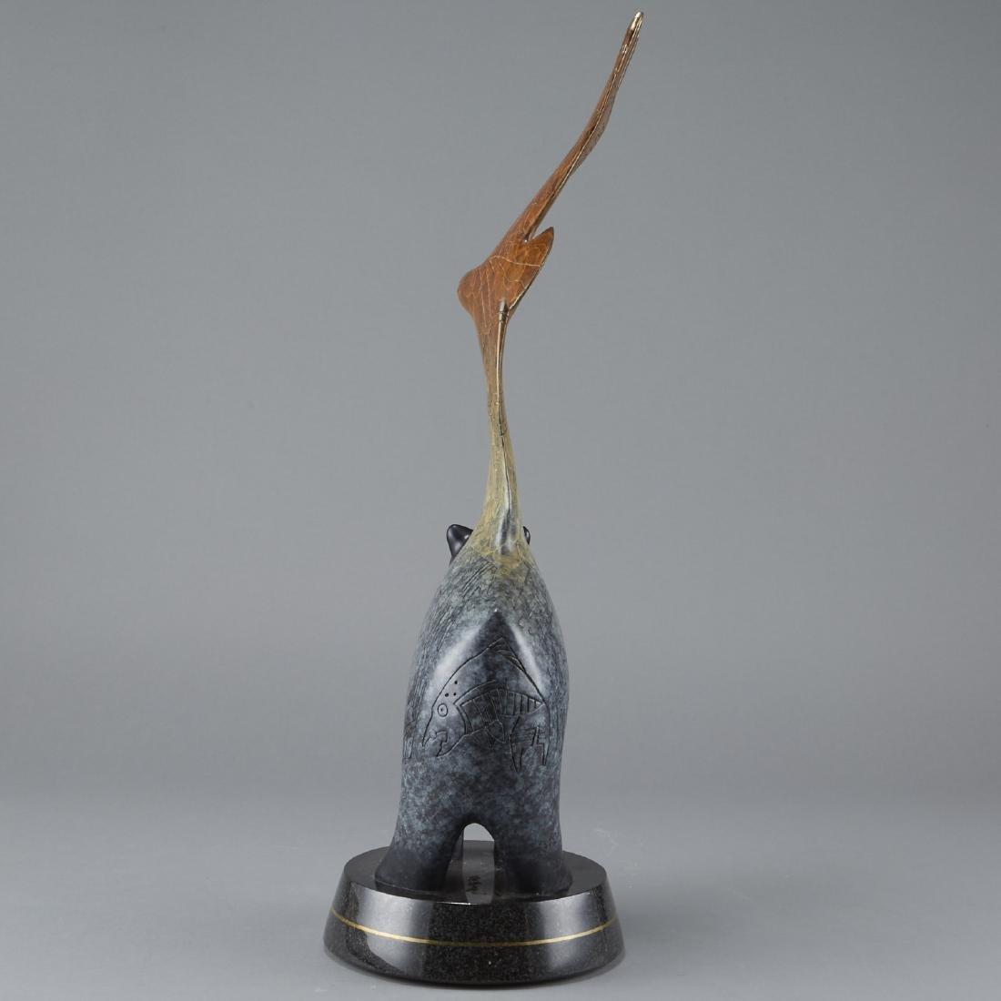 Gene and Rebecca Tobey Bronze Sculpture - 2