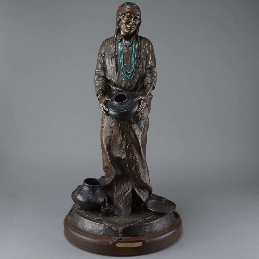 Susan Kliewer Julian Bronze Sculpture