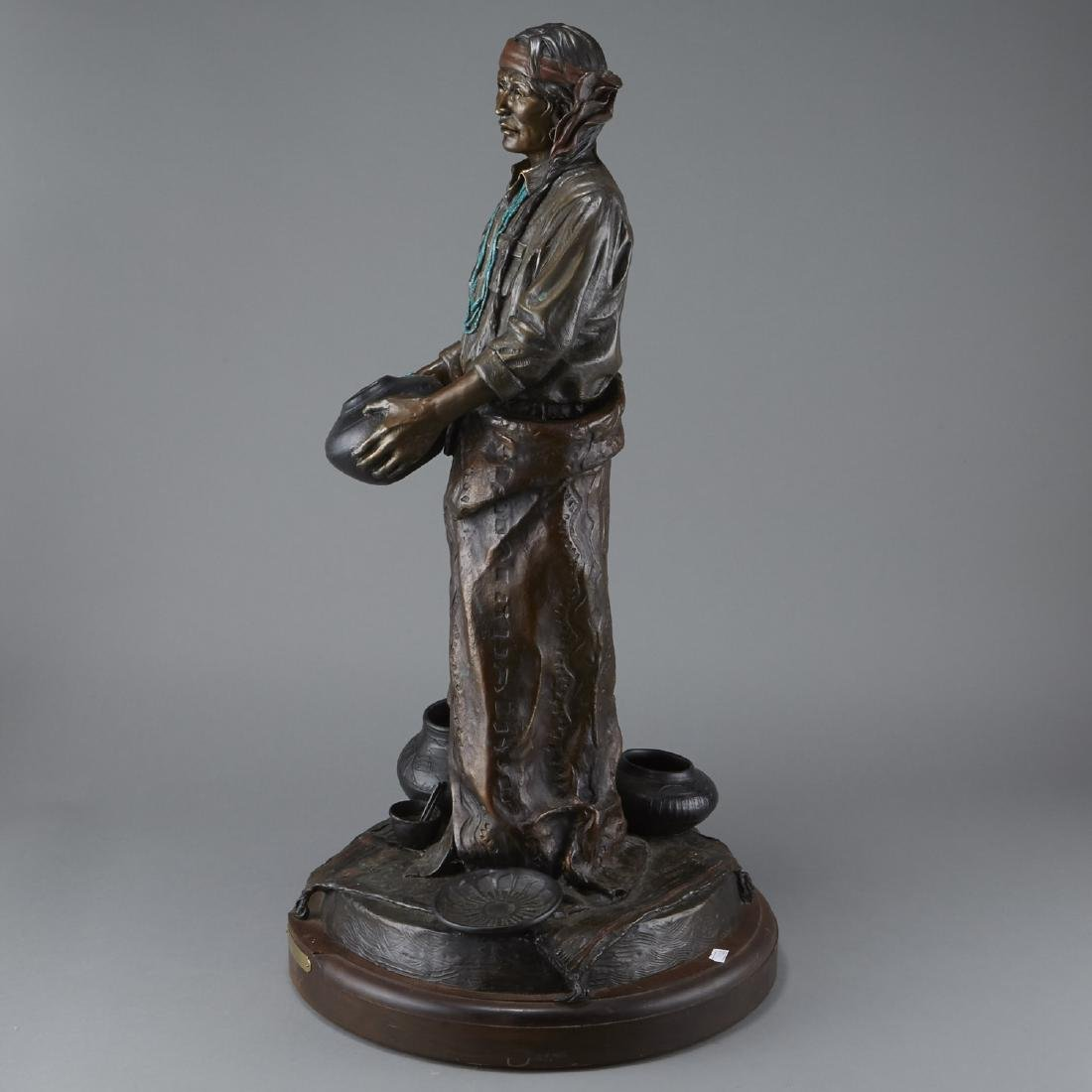 Susan Kliewer Julian Bronze Sculpture - 2