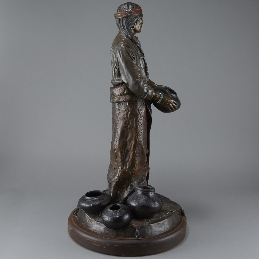 Susan Kliewer Julian Bronze Sculpture - 4
