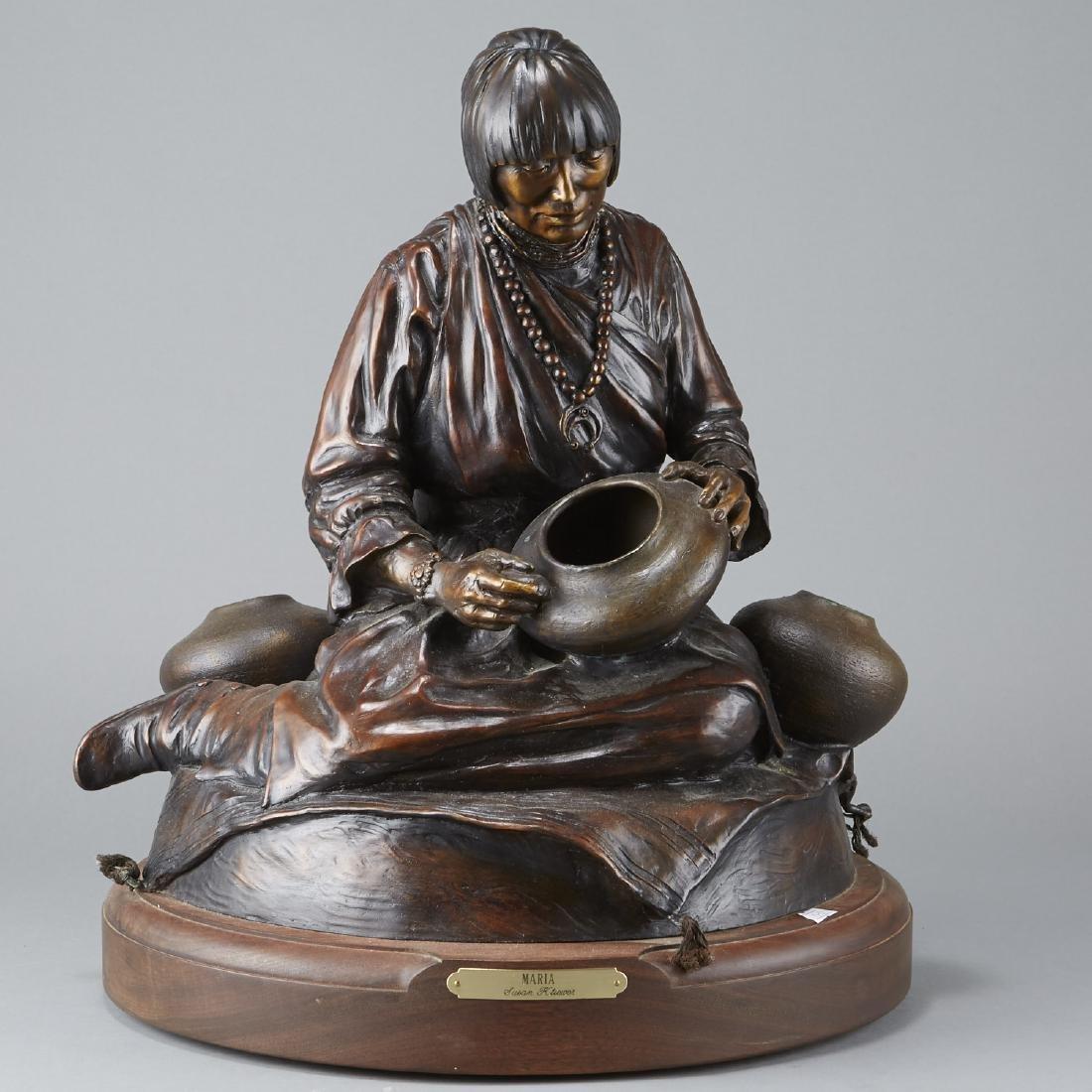 Susan Kliewer Maria Bronze Sculpture