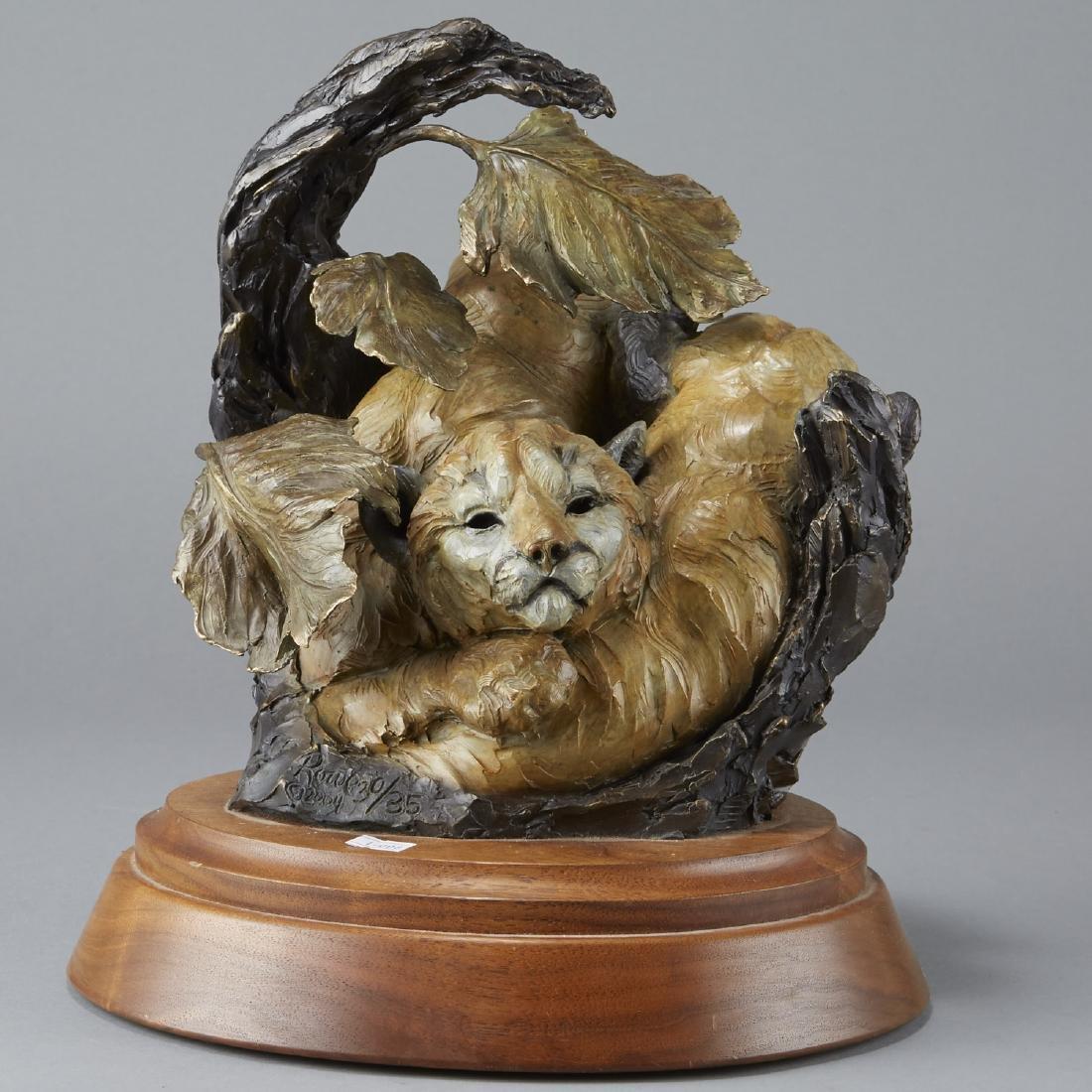 Ken Rowe Bronze Sculpture Circle of Life