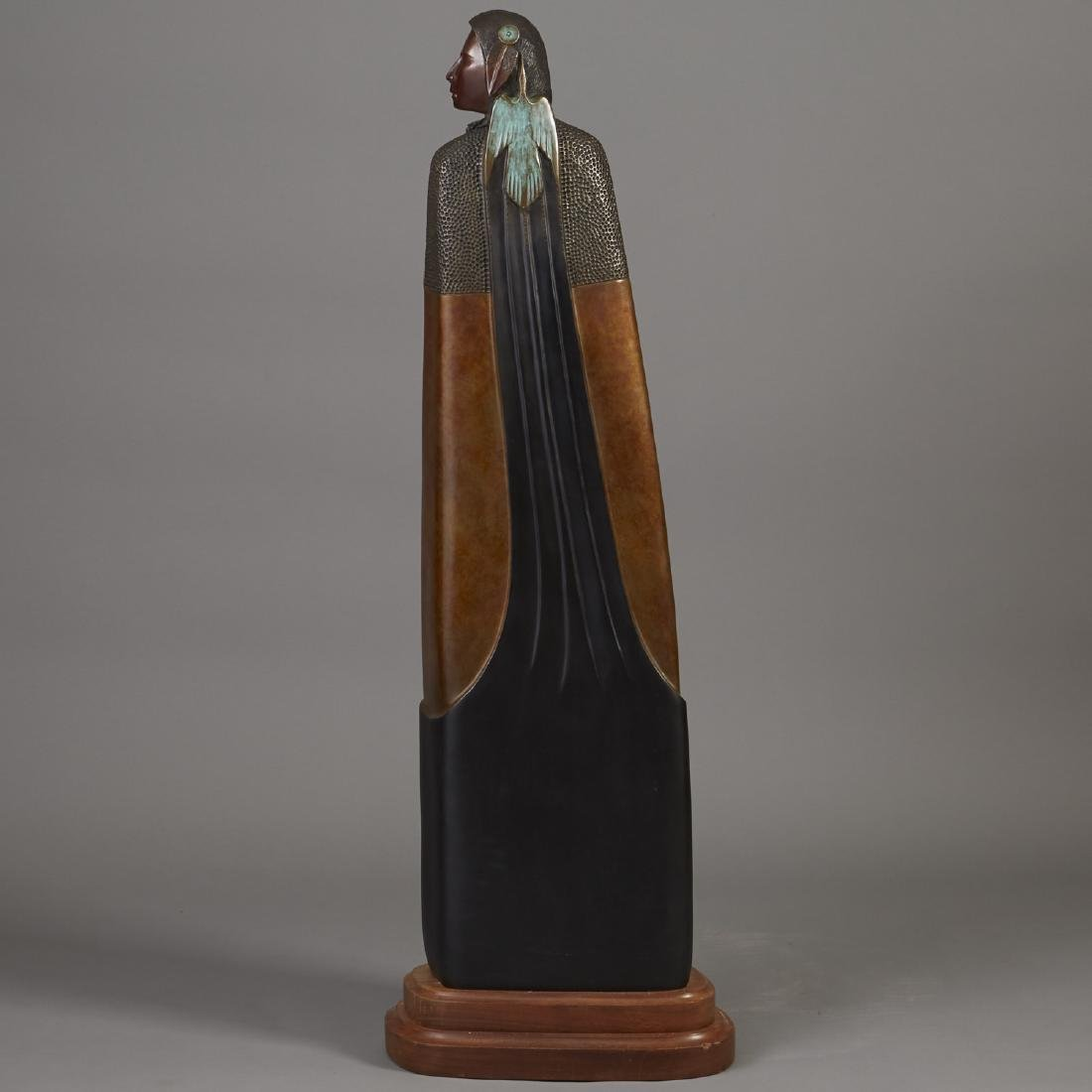 Larry Yazzie Bronze Sculpture