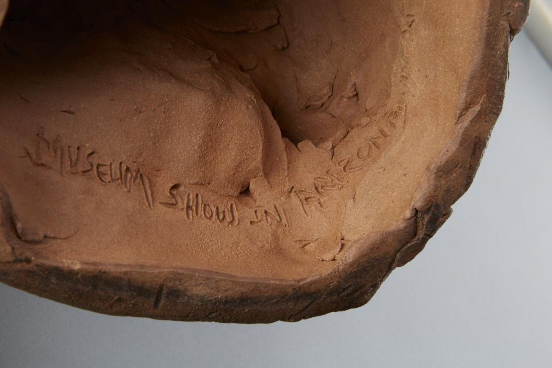 2 Glen LaFontaine Ceramic Sculptures - 13