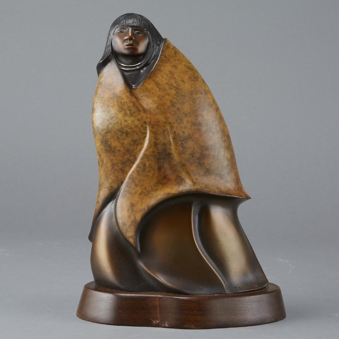 D. Hyde Butterfly Girl Bronze Sculpture