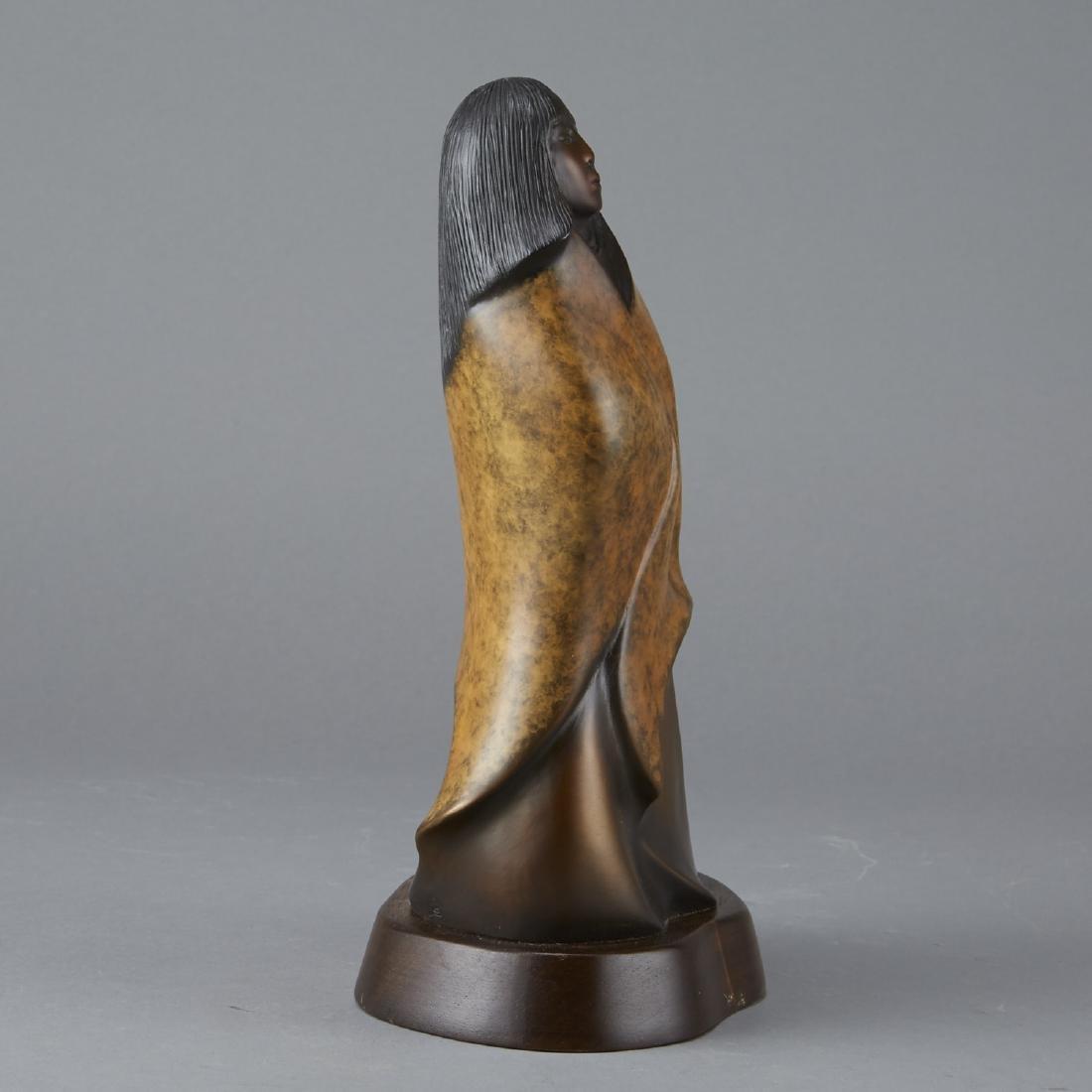 D. Hyde Butterfly Girl Bronze Sculpture - 4
