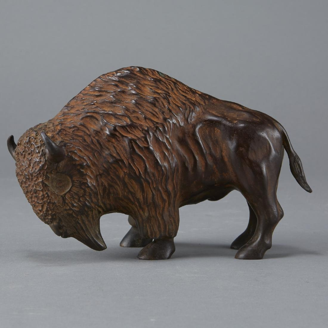 Phillip Houzous Buffalo Sculpture 2003