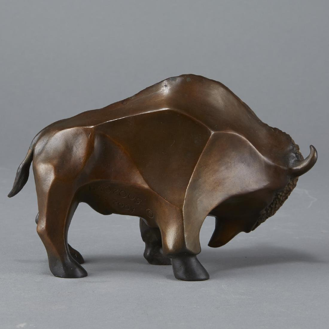Phillip Houzous Buffalo Sculpture 2003 - 3