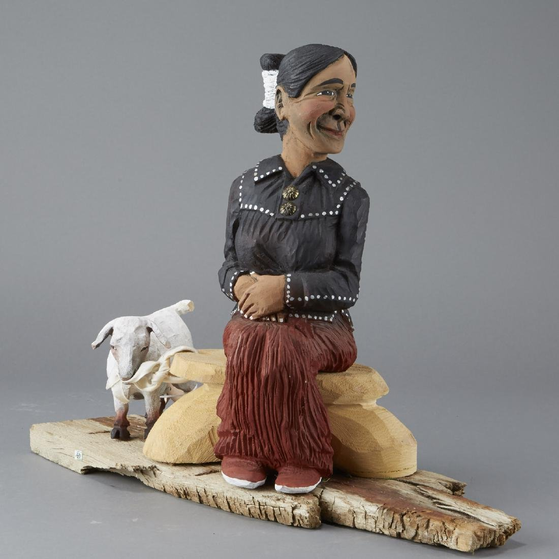 Harrison Juan Navajo Folk Art Sculpture