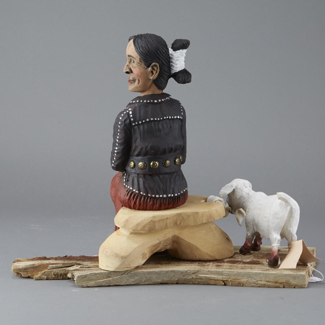 Harrison Juan Navajo Folk Art Sculpture - 2