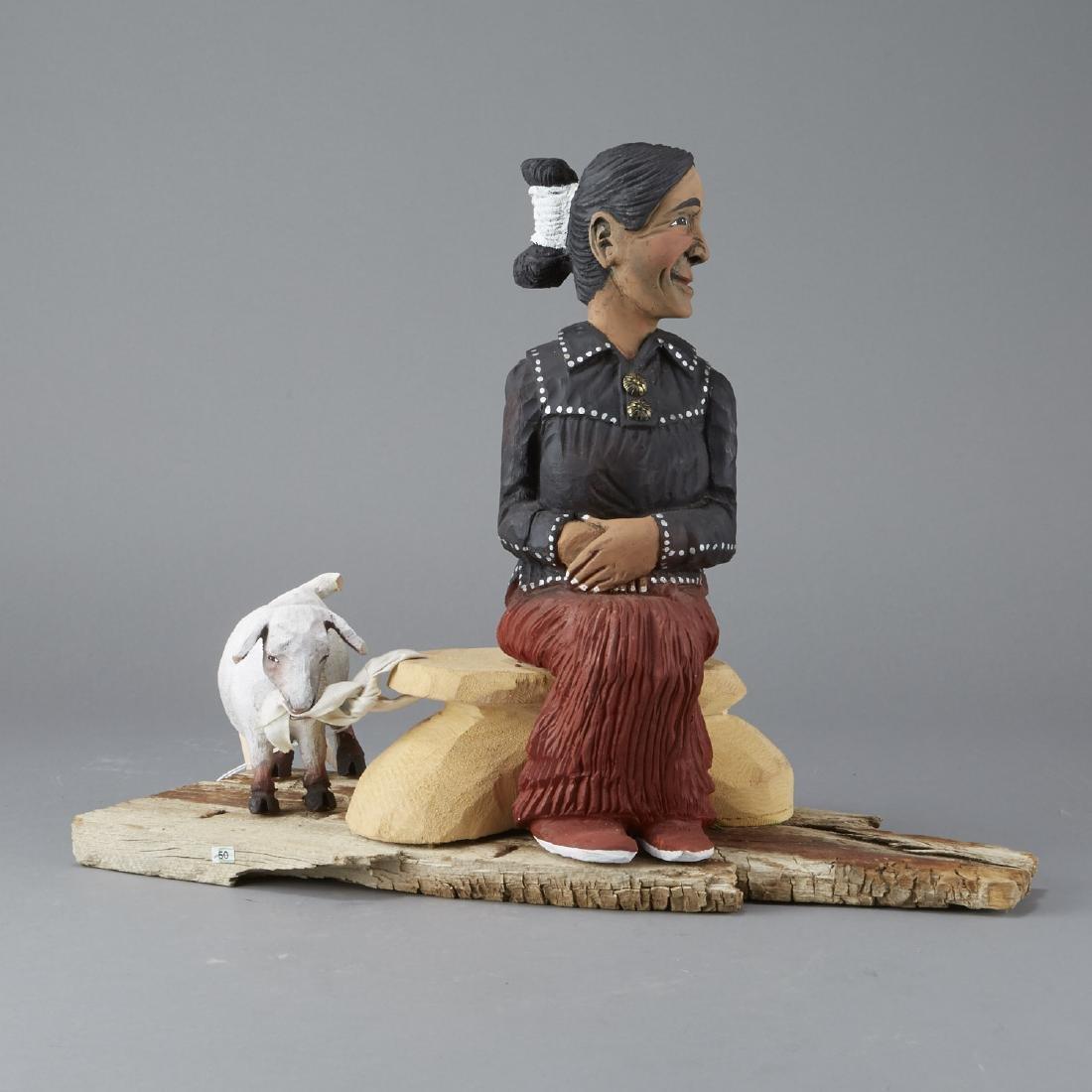 Harrison Juan Navajo Folk Art Sculpture - 4