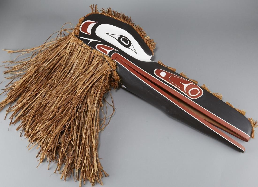 Knox Raven Mask Northwestern Native American