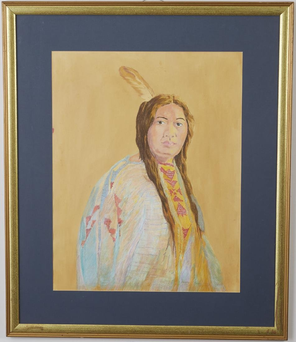 5 Native American Portraits Gray, Kliewer, etc. - 2