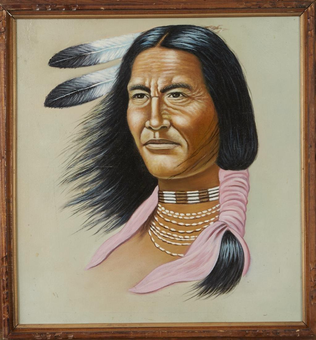 5 Native American Portraits Gray, Kliewer, etc. - 5
