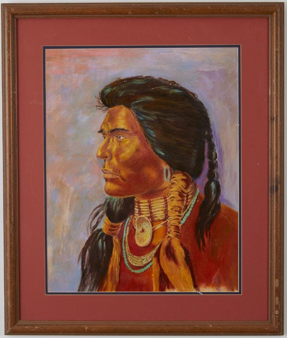 6 Native American Portraits, Southwestern Scenes - 4