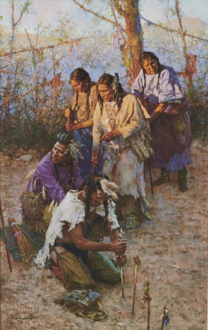 Terpning Offerings to the Little People Giclee
